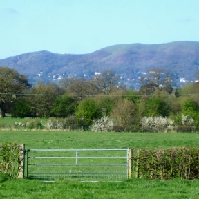 View of Hills from Rhydd Barn