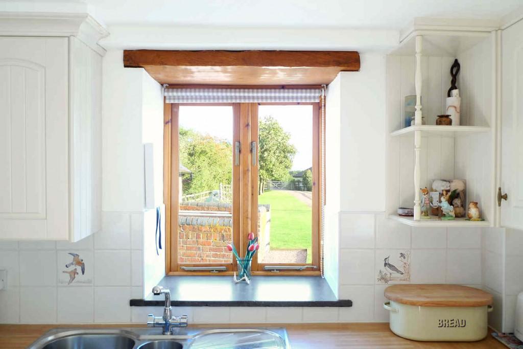Kitchen area window