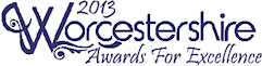 Visit Worcestershire Awards for Excellence logo