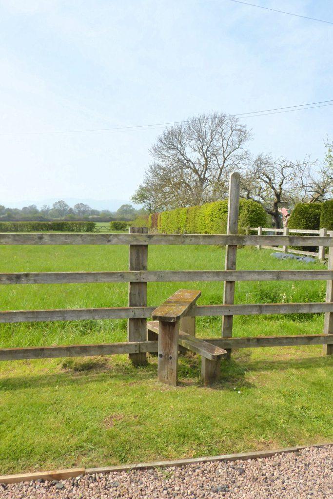 Access stile to Rhydd Barn fields