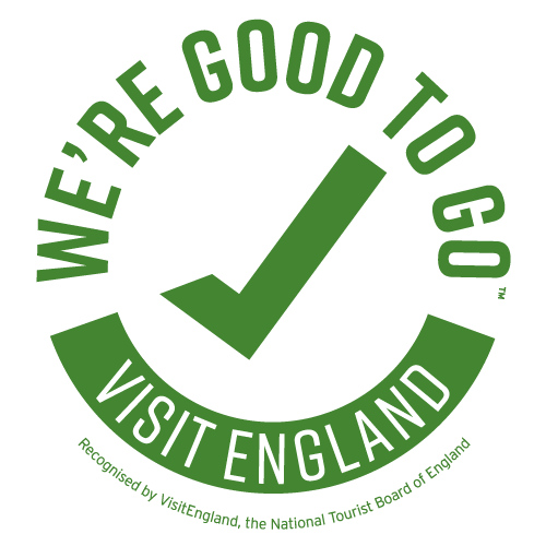 We're Good To Go England logo