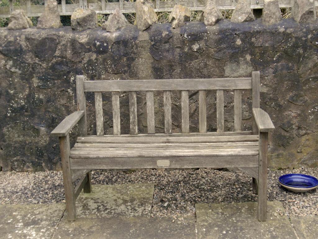 Patio bench wood preservative